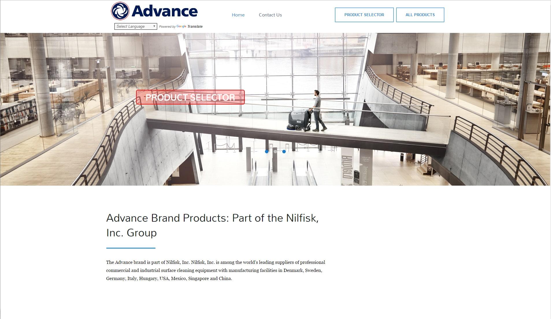Mr.Tutor-Tech Website Design Milton Advance Products Website Design Slide 2