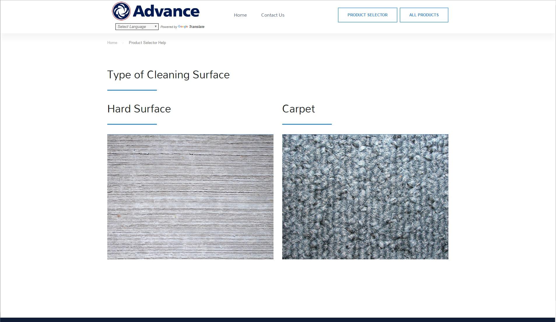 Mr.Tutor-Tech Website Design Milton Advance Products Website Design Slide 3