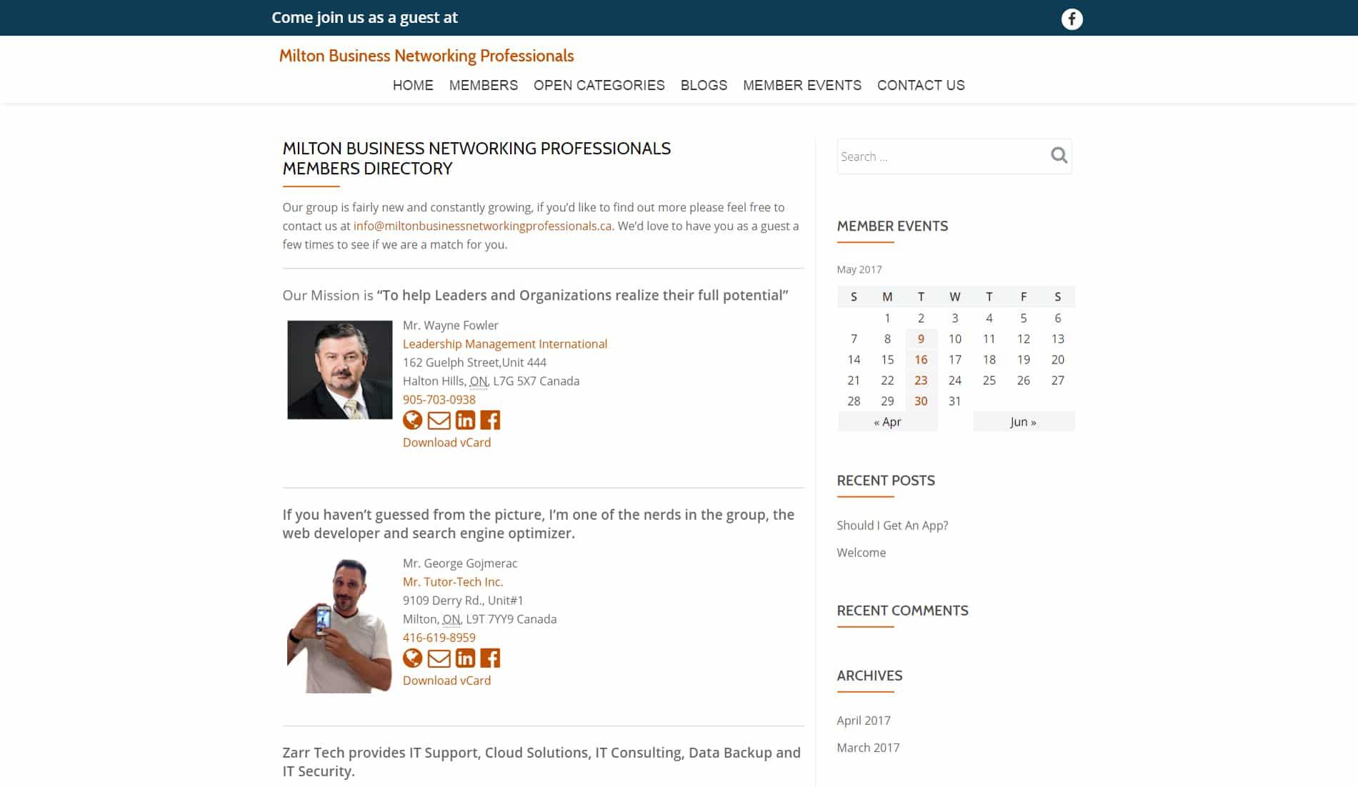 Mr.Tutor-Tech Website Design Milton Mbnp Website Design Slide 2