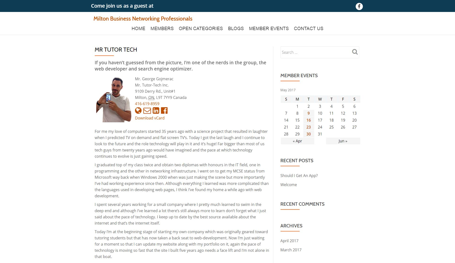 Mr.Tutor-Tech Website Design Milton Mbnp Website Design Slide 3