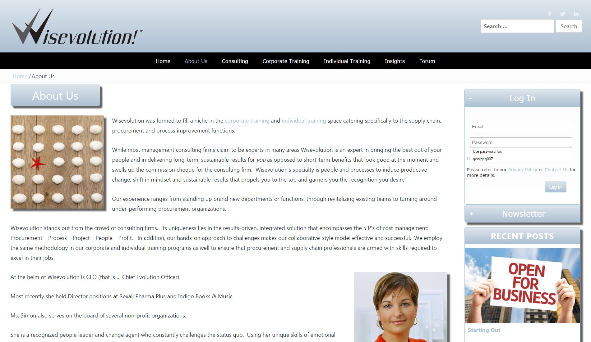 Mr.Tutor-Tech Website Design Milton Wisevolution Website Design Slide 3
