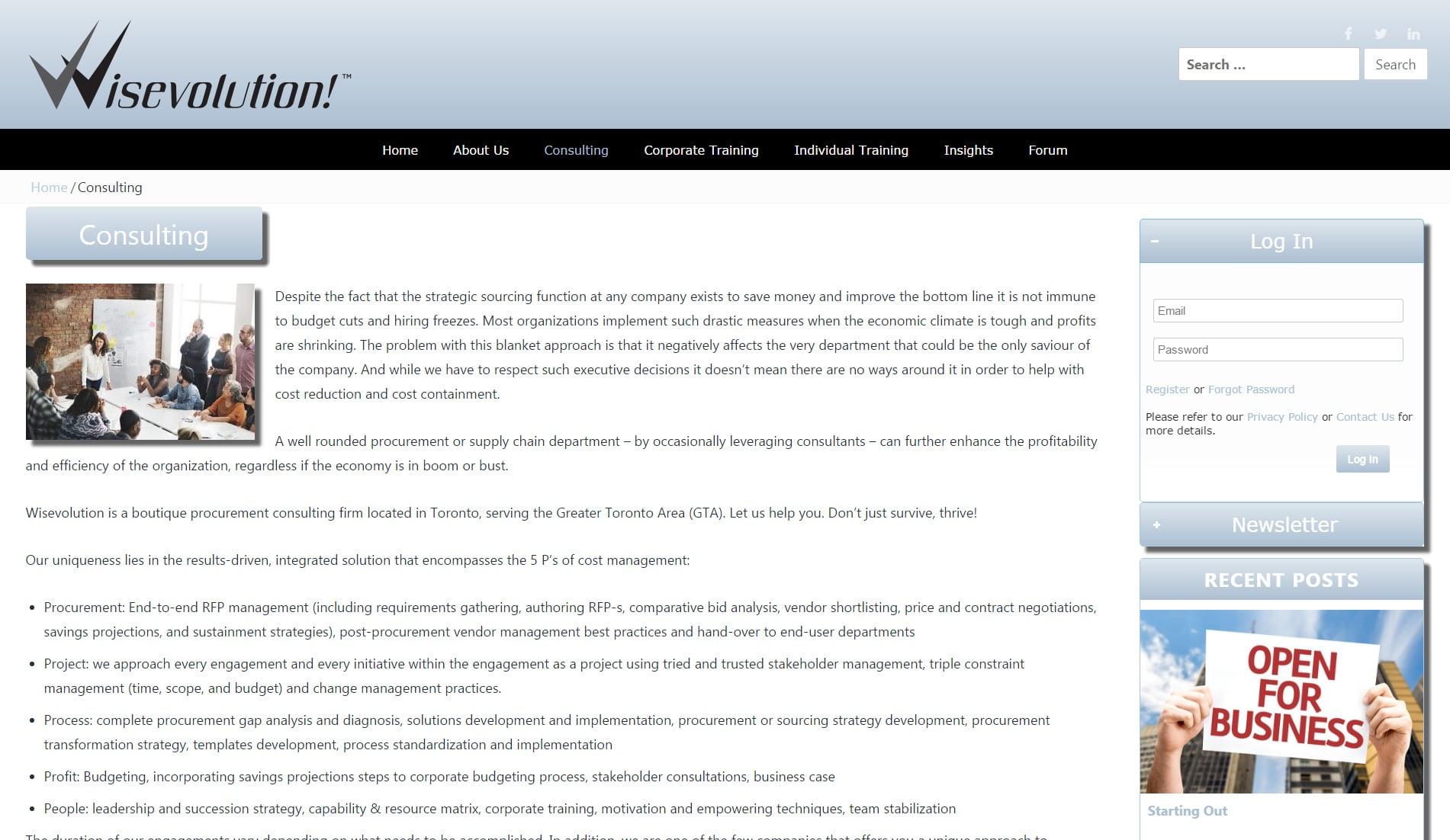 Mr.Tutor-Tech Website Design Milton Wisevolution Website Design Slide 4
